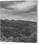 Rolling Hills Of North Carolina Wood Print