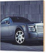 Rolls Royce 3 Wood Print