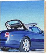 Rolls Royce 6 Wood Print