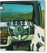 Rolls Royce 8 Wood Print