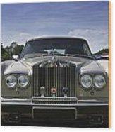 Rolls Royce Corniche 1980 Wood Print