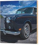 Rolls Royce Wood Print