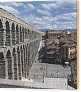 Roman Aqueduct I Wood Print