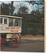 Roman Candy Wagon New Orleans Wood Print