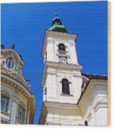 Roman Catholic Cathedral-sibiu Wood Print