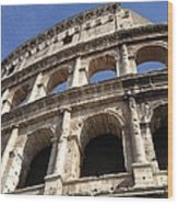 Roman Colosseum Wood Print
