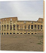 Roman Colosseum  Wood Print