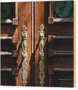 Roman Doors Wood Print
