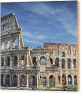Roman Icon Wood Print