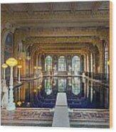 Roman Pool At Hearst Castle  Wood Print