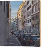Roman Street Wood Print
