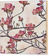 Romance Flora Wood Print