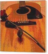 Romance Me Wood Print by Sharon McLain