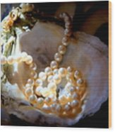 Romance Of The Sea Wood Print