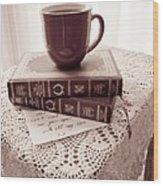 Romance Series 1 Wood Print