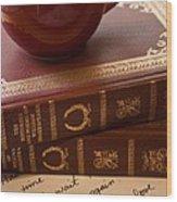 Romance Series 2 Wood Print