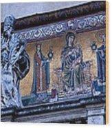 Romanesque Campanile Wood Print