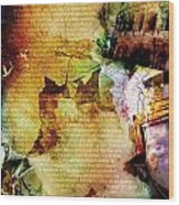 Romans 14 Wood Print