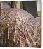Romantic Bedroom Wood Print