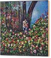 Romantic Wood Print