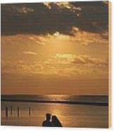 Romantic Sunrise Wood Print
