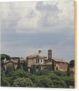 Rome 1 Wood Print