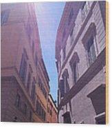 Rome At Mid Day Wood Print