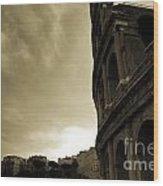 Rome Colosseum Wood Print