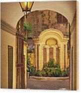 Rome Entry Wood Print