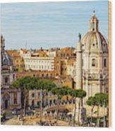 Rome, Italy. Rome, Italy. Piazza Della Wood Print