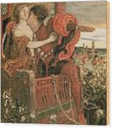 Ford Madox Brown Romeo and Juliet Giclee Canvas Print  Poster