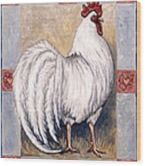 Romeo The Rooster Wood Print