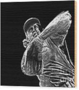 Ron Santo - H O F Wood Print