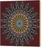 Ronnie Mandala Wood Print