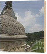 Roof Of Biltmore Estate Wood Print