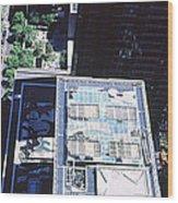 Rooftop Of Museum Of Modern Art Wood Print