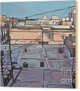 Rooftops Of Old San Juan Wood Print