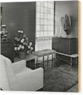 Room Designed By John And Earline Brice Wood Print