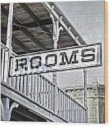 Rooms Wood Print