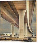 Roosevelt Bridge-1 Wood Print