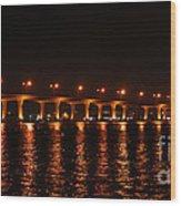 Roosevelt Bridge Panorama Wood Print