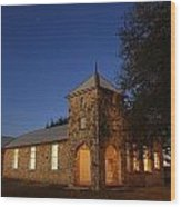 Roosevelt Church 2am-105379 Wood Print