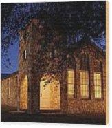 Roosevelt Church 2am-106055 Wood Print