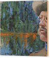 Roosevelt Wood Print by Deborah Allison