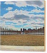 Roosevelt Island Memorial Wood Print