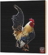 Rooster - 4602 - Bb Wood Print