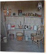 Root Cellar Wood Print