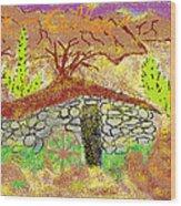 Root Cellar Wood Print by Joe Dillon