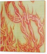 Root Of Evil Wood Print