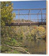 Root River Autumn 3 Wood Print